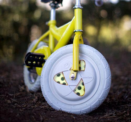 Gyrowheel korvaa apupyörät