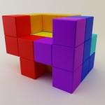 Tetris-aiheinen tuoli – retroilijan unelma