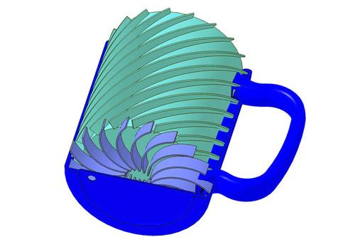 Älykäs kahvimuki pitää juoman kylmänä tai kuumana 2