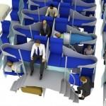 Design Q esittelee uudenlaisia ratkaisuja lentokoneen matkustamoon