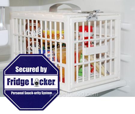 Fridge Locker on turva kun eineet ovat syöpön-vaarassa