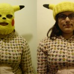 Pikachu convertible ski mask by Sugarcoatidli3z