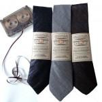 Vanhoista C-kaseteista kudotut solmiot ovat Lo-fi -friikin ehdoton vaateparsi