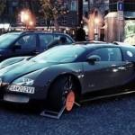 Bugatti Veyron ja rengaslukko