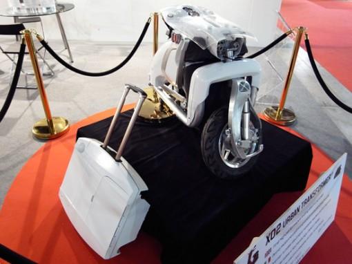 XOR motors esittelee: XO2 urban transformer, kokoontaittuva sähköskootteri 1