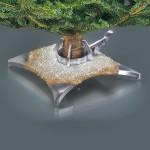 Swarovski-kristallein koristeltu joulukuusenjalka on pramea ja kallis