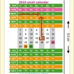 Pikkukalenteri vuodelle 2010