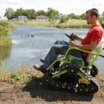 Action Trackchair vie liikuntarajoitteisen minne vain