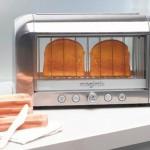 Vaativalle paahtoleivän paahtajalle: läpinäkyvä leivänpaahdin