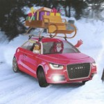 Moottorivalmistajat suunnittelivat joulupukille uuden kulkupelin, äänestä parasta!