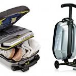 Trolley Luggage on Samsoniten ja Micro Scooterin ovela yhteisprojekti