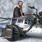 Yamaha Wild Star ja Messerschmitt ME109 yhdistyvät tässä hienossa menopelissä