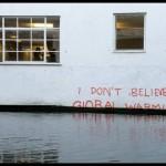 Banksy kommentoi ilmaston lämpenemistä