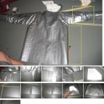 Jeesusteippi-huppari on valmistettu jeesusteipistä, 100 metriä