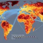 Etäisyydet maapallolla ovat pieniä – ajallisesti