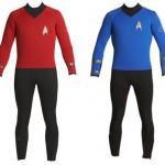 Star Trek -märkäpuku on nörttisukeltajan ykkösasuste