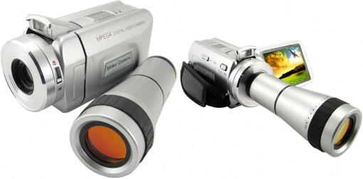 Digitaalivideokamera 8-kertaisella optisella zoomilla
