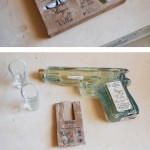 Hijos De Villa Pistol Reposado Tequila 200ml on tequila-ase, josta voi juoda