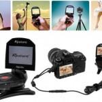 Aputure Gigtube Instant Digital Screen Remote Viewfinder on nimihirviö, joka näyttää kameran etsimen kuvan