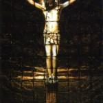 Adam Sheldon teki 1,8-metrisen Jeesus-ikonin 153 kappaleesta paahdettua paahtoleipää