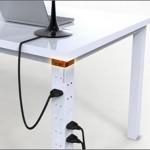 PowerPost-konsepti tuo sähkön pöydänjalkaan