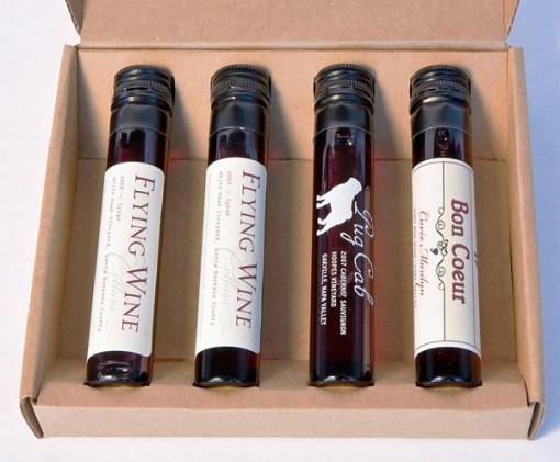San Franciscolainen Brixr myy 50ml viinipakkauksia koemaistamista varten 1