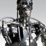 Aidon kokoinen T800 replika elokuvasta Terminator 2: Tuomion päivä