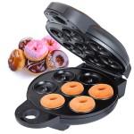 Mini Donut Maker tekee donitsit 7:lle kerralla ilman uppopaiston tarvetta