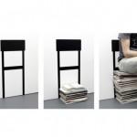 AMPLIFIER: STACK CHAIR on tuoli joka kasvaa kun mainoksia tulee