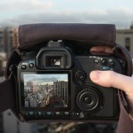 Cloak Bag -kameralaukku auttaa kuvaamaan huomaamatta