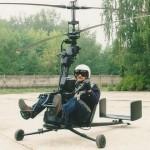 Kokoontaitettava helikopteri