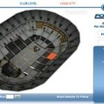 Ballena Seats3D on loistava idea, amerikkalainen paikanvarauspalvelu