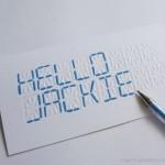 LCD 'Write Your Own Message' Card on kortti joka tekee analogiasta bittejä mukamas