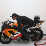 Puerto Ricolainen David Morales Colón oli hautajaisissaan moottoripyörän selässä