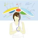 Dong Min Park: Rain Drum -konseptisateenvarjo voimistaa sateen rummutuksen