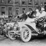 Ralliautoilua 102 vuotta sitten