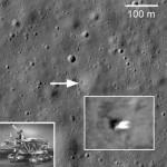Neuvostoliittolainen Lunokhod 1 -Kuuntutkimus-ryömijä vuodelta 1970 löytyi