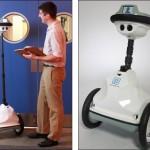 Anybots QB on toimistorobotti, joka toimii tarkkailevana fyysisenä etätyökaluna