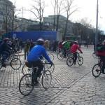 Pyöräilijät kokoontuvat huomenna Helsingissä paremman liikkumismuodon puolesta!