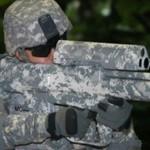 XM-25 on älykkäitä luoteja ampuva kivääri jolla voi tappaa nurkan taakse