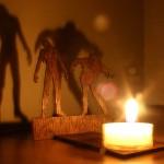 Zombie shadowcaster on zombituikkulyhty