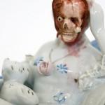 Jessica Harrison: Dark Ceramics – söpöt posliiniesineet ei niin söpöinä