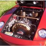 Porsche Boeing, tulenlieskoja etuhudlarista!