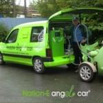 Nation-E: Angel Car tuo sähköä sähköautoille tien päällä