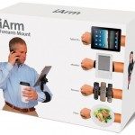iArm ja sen multi-mount-kiinnitys tarjoaa helpotusta mobiilihelvettiin