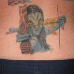 Avatar-fani Iggy hankki jo seitsemännen Avatar-tatuoinnin