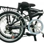 Mihin riittää 200 euron hintainen, 12 kilon painoinen kokoontaitettava polkupyörä?