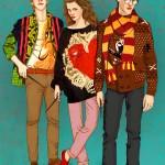 Harry Potter ja kumppanit hipstereinä