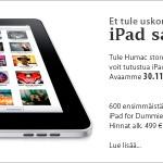 Applen iPad vihdoinkin Suomessa