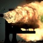 Yhdysvaltojen laivaston raidetykki-prototyyppi laukoo ammuksia jo yli 150 kilometrin päähän